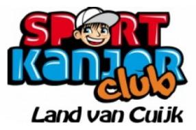 """Win een workshop """"Kanjers in  de Sport"""" voor uw  sportvereniging!"""