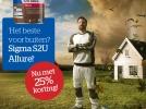 25% KORTING SIGMA S2U ALLURE PRODUCTEN