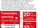 Actieweekend tankstation Avia Xpress 28 t/m 30 november!
