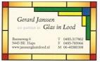 Gerard Janssen Glas in Lood