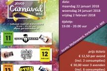 jongerenbals Carnaval Mill