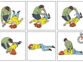 Zo leg je iemand in de stabiele zijligging