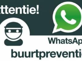 Whatsapp buurtpreventie, ook iets voor uw wijk?